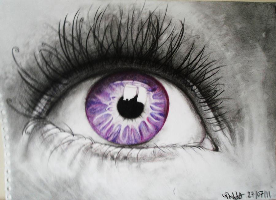 Eye like purple by Vondie