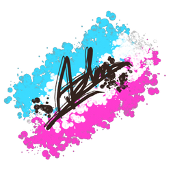 Signature [trans flag background] by BackFromHell666