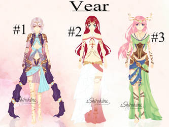 [CLOSED] Vear #1 by xShirohime
