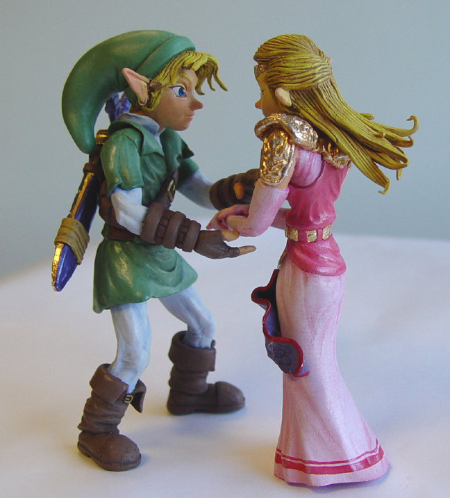 Zelda Wedding Cake Topper