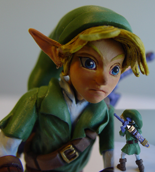 Zelda Wedding Cake Topper 2 by Scrybe on DeviantArt