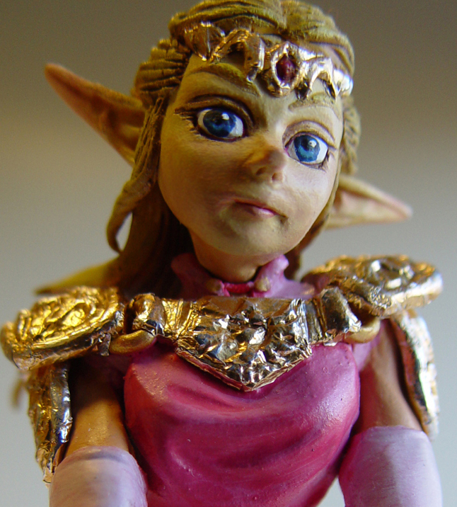 Zelda Wedding Cake Topper 4 by Scrybe