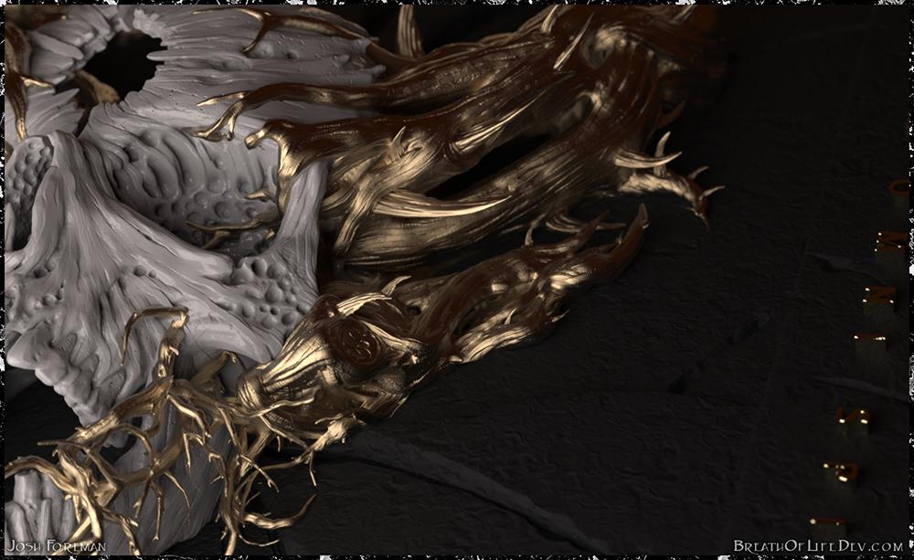 Demon Hunter: War ~ Josh Style Lower Right by Scrybe