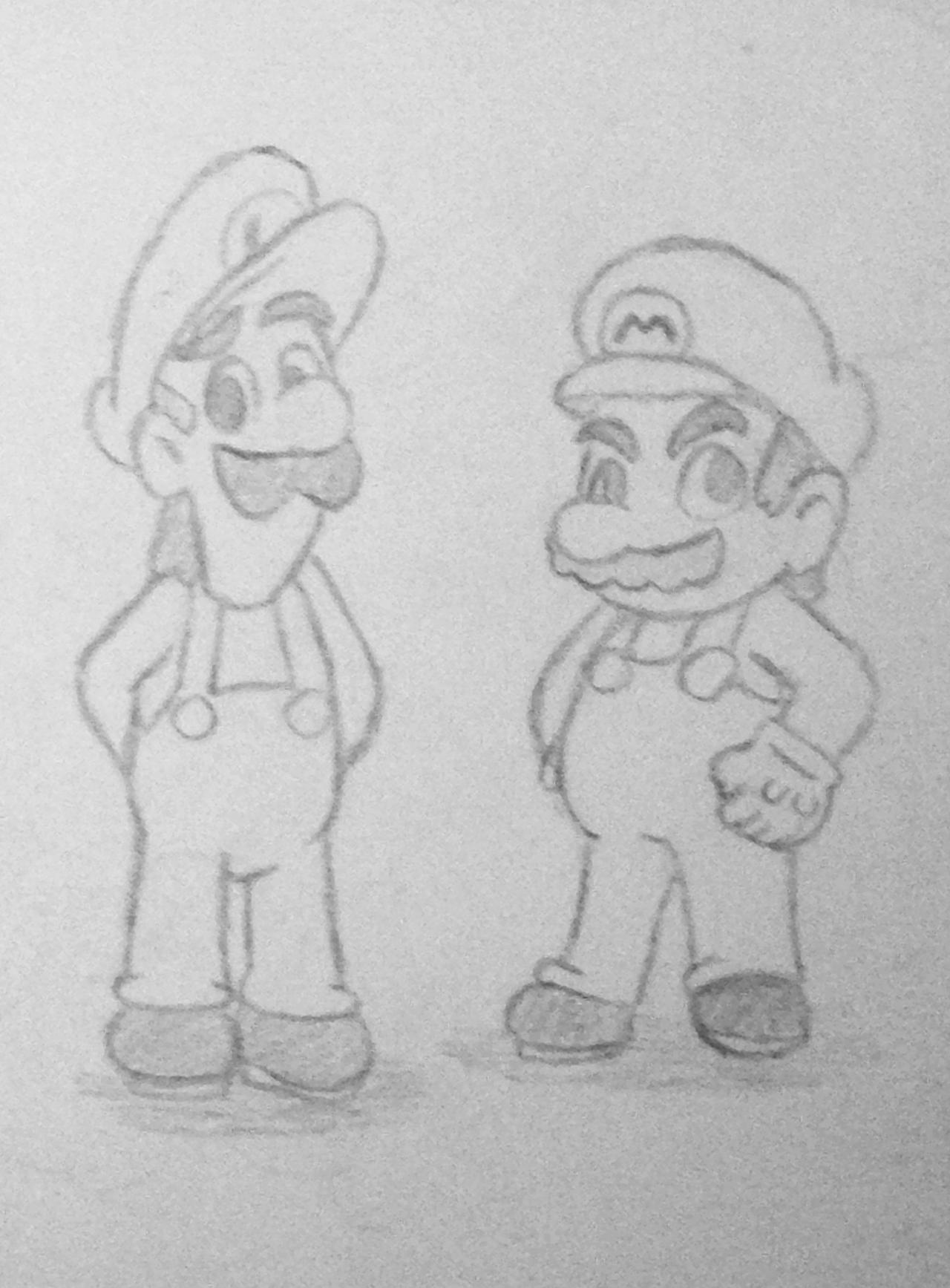 Mario Bros. by pheonix548