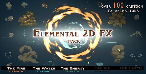 Elmental 2D FX pack by RT-FX