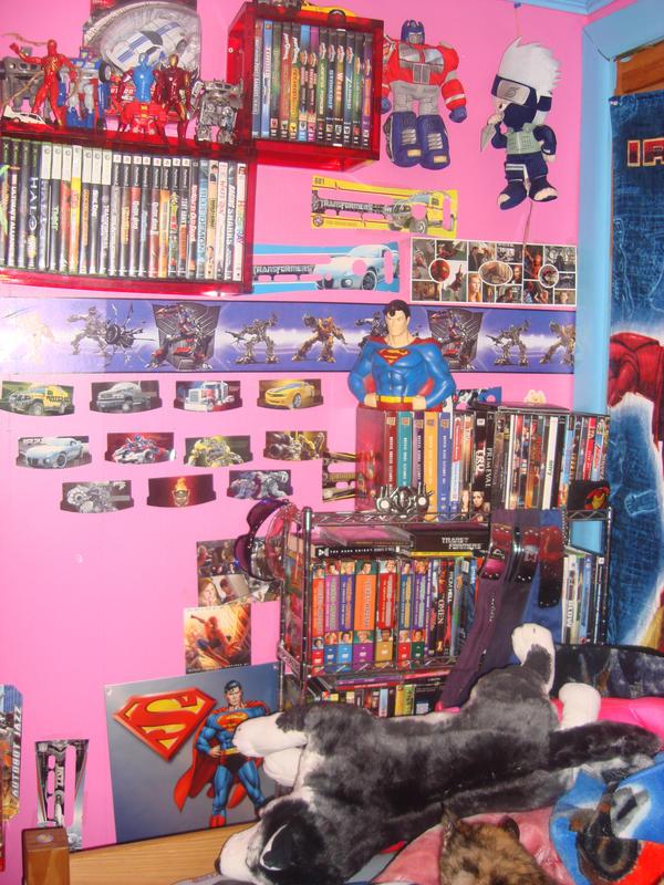 My Room  part 5 by jazzbot8907 - S�per Kahraman Hastas� �ocu�un Odas�