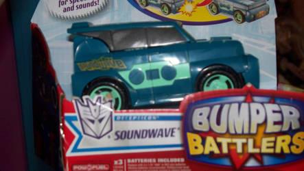 Bumpers Battler Soundwave by jazzbot8907