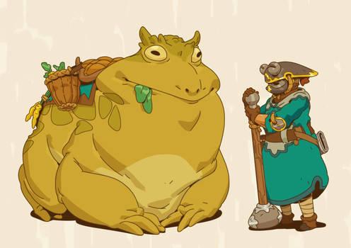 bullfrog rider