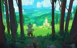hillside town (YouTube)