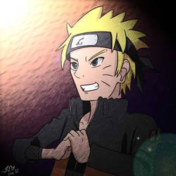 Naruto Uzumaki by Leoni-Fang02