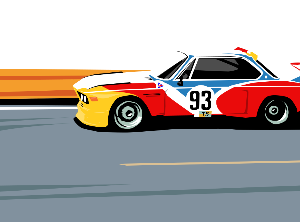 bmw 3 0 csl art car alexander calder 1975 by krejzifrik on deviantart. Black Bedroom Furniture Sets. Home Design Ideas