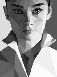 Audrey Hepburn Triangular