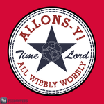 'ALLONS-Y All Wibbly Wobbley' by RanDoom