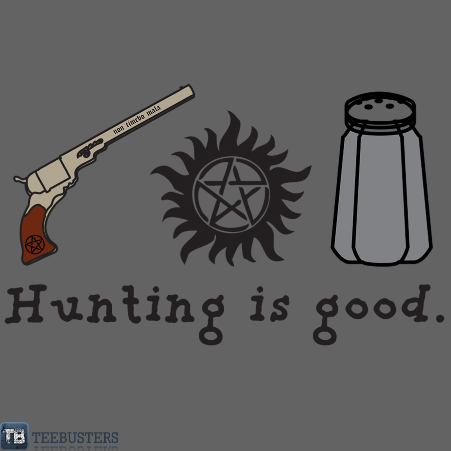 'Hunting is Good' by thischarmingfan by Teebusters