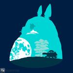 'Totoro and Nekobasu' by ddjvigo!