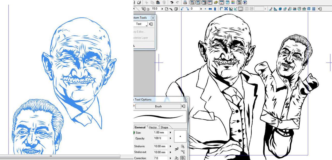 Proceso de Ilustracion Salinas Bronco by mocarhead
