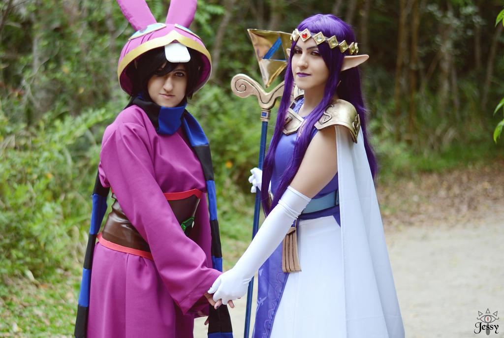 Princess Hilda and Ravio by JessyBerthi