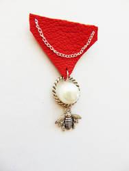 Award medal brooch