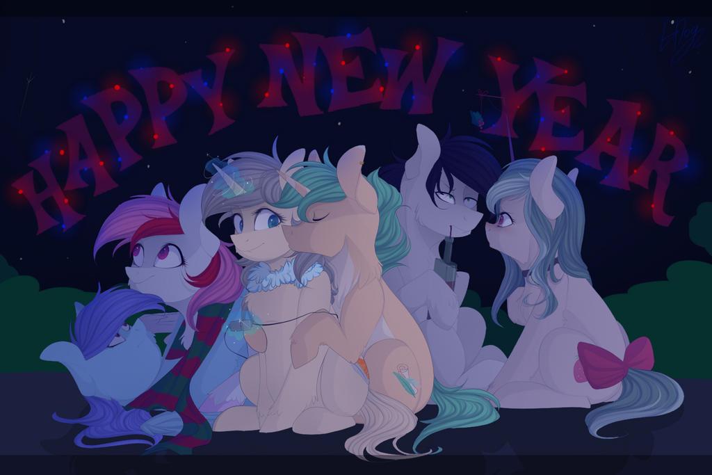 Happy New Year by mrGDog
