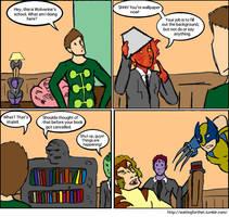 X-Men: Wallpaper by magickmaker