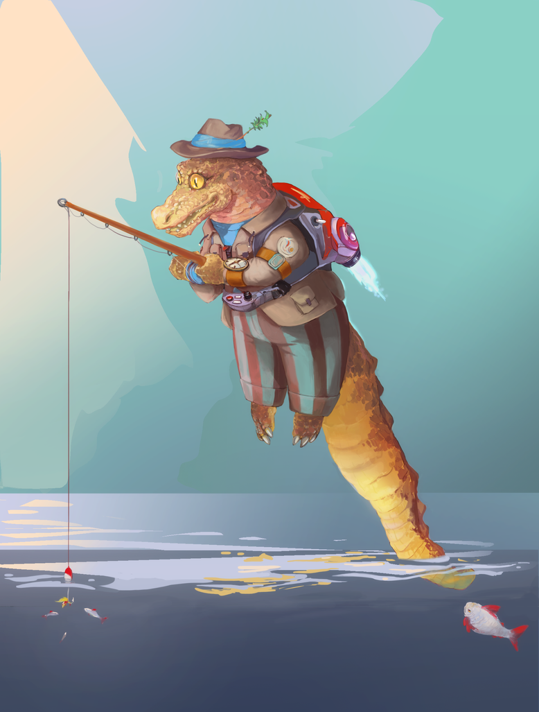 Fishing by KienWar