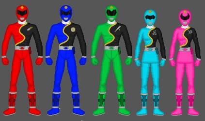 Request: Power Rangers Sports Academy by Soluna17