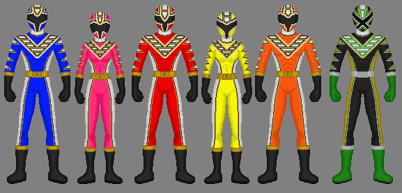 Request: Racer Rangers by Soluna17