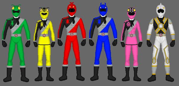 Request: Power Rangers Bug Exterminators by Soluna17