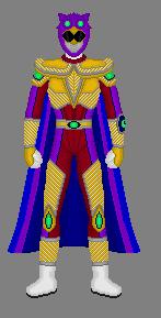 Request: Sentai Timefox Platinum Ranger by Soluna17