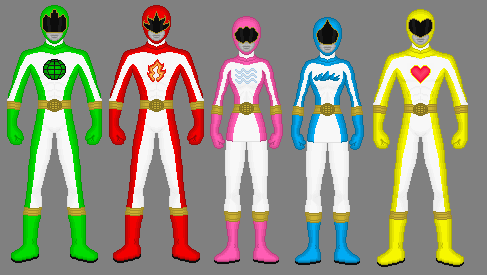 Planeteer Rangers Redesigned by Soluna17