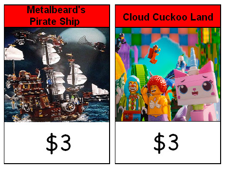 Lego Movie Monopoly Junior Red Properties by Soluna17