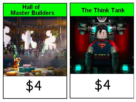 Lego Movie Monopoly Junior Green Properties by Soluna17