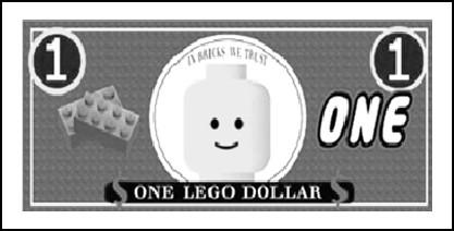 Lego Movie Monopoly Junior Money by Soluna17