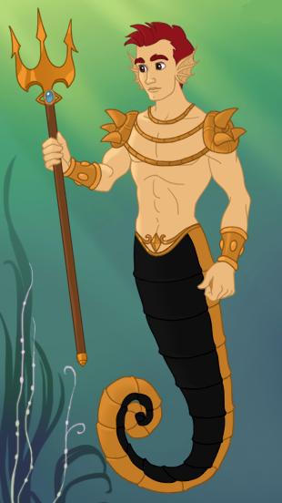 Seahorse Merman by Soluna17