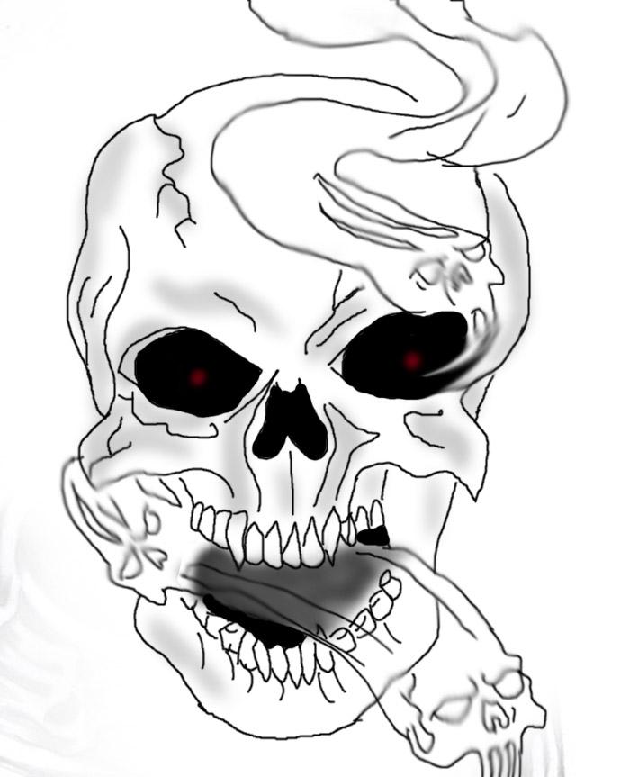 Mikko's crafts - Page 2 Skullz_by_sparklesofdoom