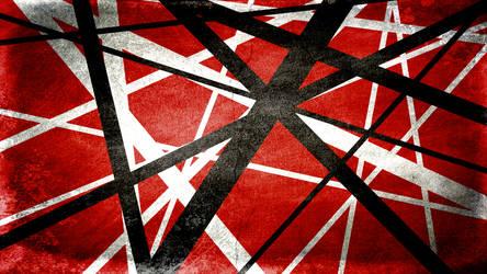 cd40a7b0a9b lryvan 3 0 Iron Frankenstrat Stripes Wallpaper (HD) by MistermindH