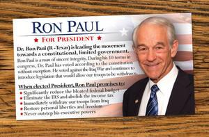Ron Paul Info Card by Ron-Paul-4-President