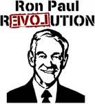Ron Paul 2008 Stencil Vertical