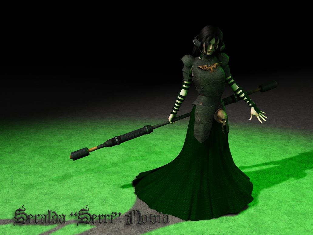 Rogue Trader - Seralda Novia, Astropath by Hellwolve