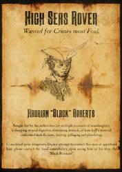 Wanted - Hadrian 'Black' Roberts