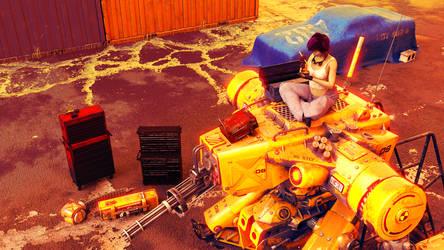 Mecha Mechanic: 'Lunchbreak'