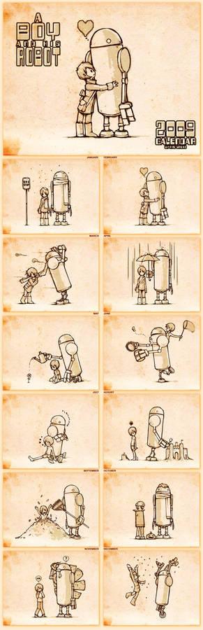 A Boy and His Robot