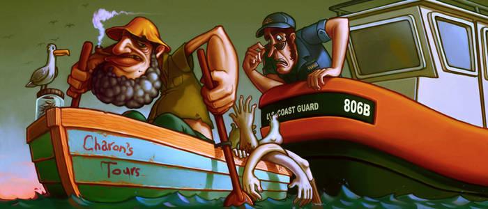 Charon and the Coast Guard