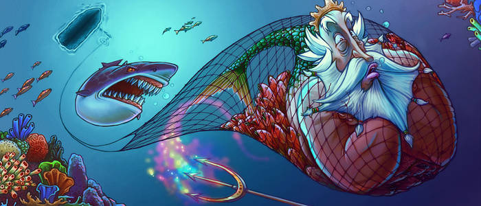 Triton and the Fishing Net