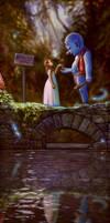 The Bridge Troll by RYE-BREAD