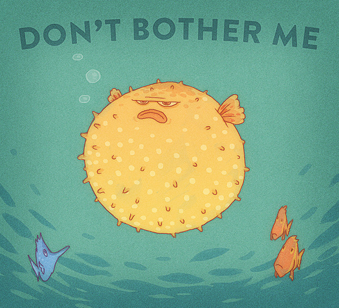 Don't Bother Me by RYE-BREAD
