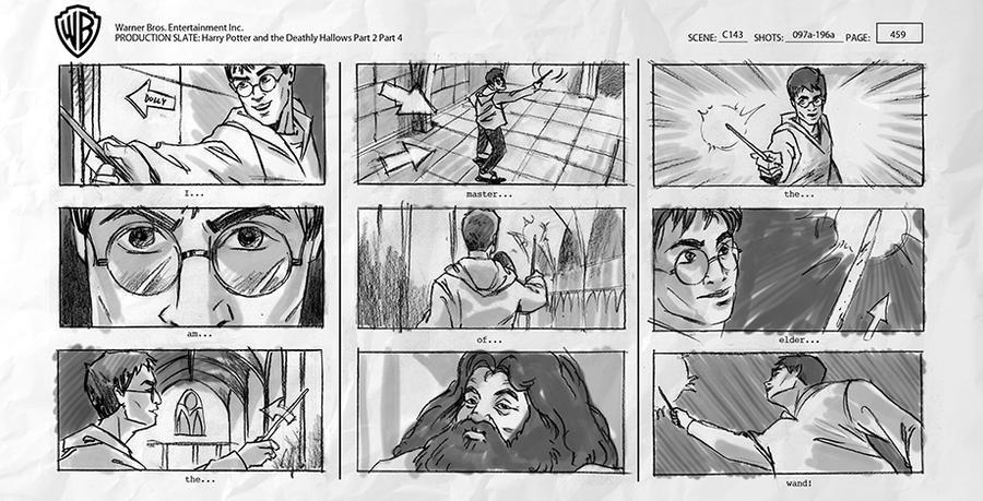 Harry Potter Storyboards by RYE-BREAD