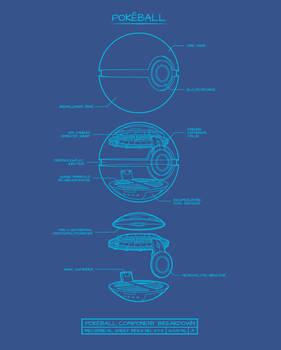 Pokeball Component Breakdown by RYE-BREAD