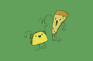 TACO PIZZA HIGH FIVE