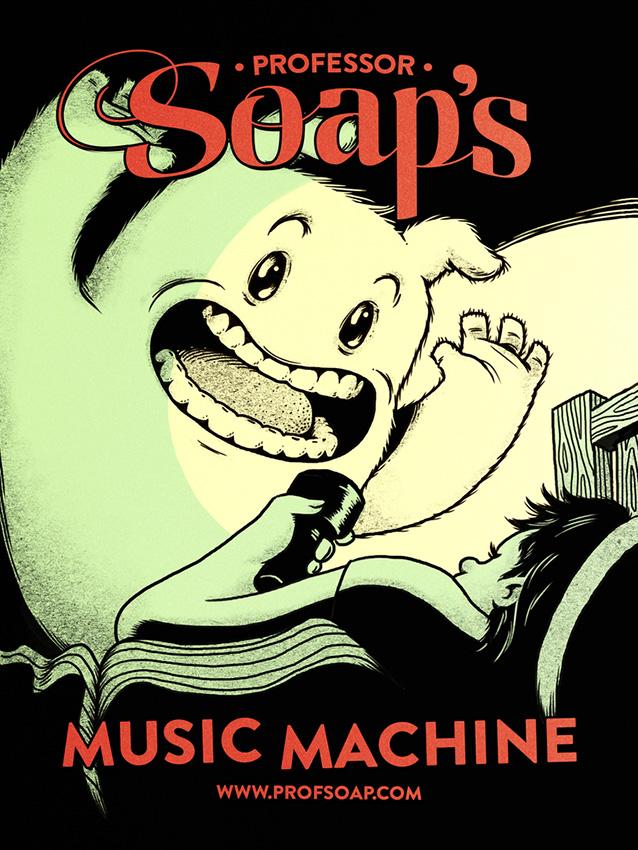 The Music Machine by RYE-BREAD